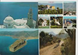 12 USED POSTCARDS : GREECE / GRIEKENLAND / GRECHE / GRIECHENLAND + STAMPS / TIMBRES / POSTZEGELS - Postkaarten