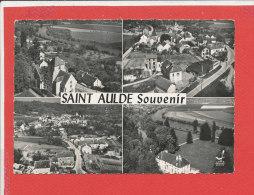 77 SAINT AULDE Cpsm Vue Aérienne Multivues          Edit Lapie - France