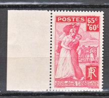 FRANCE / 1938 / Y&T N° 401 ** : Rapatriés D'Espagne - Gomme D'origine Intacte - France