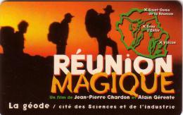 FRANCE TICKET GEODE REUNION MAGIQUE  VOLCAN VOLCANO PITON DE LA FOURNAISE CITE DES SCIENCES - Reunion