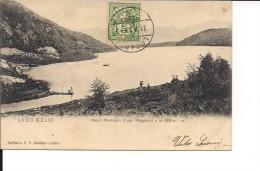 $3-3058 SVIZZERA Lago Delio Maccagno CARD TO ITALY VIAGGIATA Primi '900 - Other