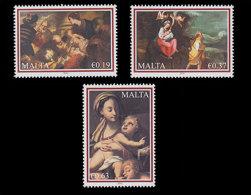 Malta 2010 - Christmas Stamp Set Mnh - Christmas
