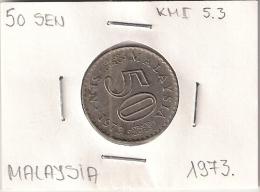 Malaysia 50 Sen 1973. KM#5.3 - Malaysia