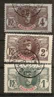 Mauritanie  N°  1,2,3 Oblitérés CAd TB Cote 5,5 Euros !!! - Mauritanie (1906-1944)