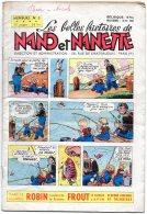 Magazine  Mensuel  -  Les Belles Histoires De  NANO Et NANETTE -  N° 3   -  1955 - Magazines Et Périodiques