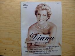 HET LEVEN VAN DIANA -VIE DE DIANA DE GALLES -LA VIDA DE DIANA DE GALES 1961 -1997 - Revistas & Periódicos