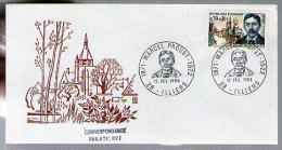 France FDC 1er Jour Le Combray De Marcel Proust écrivain Français CAD Illiers 12-02-1966 / Tp 1472 - 1960-1969