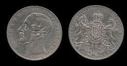 ALLEMAGNE . HANOVE .  GEORGE V . (1851 .  1866 ) . 1 THALER . 1861 B . - Taler & Doppeltaler