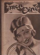 MON CINE 26 12 1929 - BESSIE LOVE - BUSTER KEATON - CHILI BOUCHIER - VILLA FALCONIERI A FRASCATI ROME - ALEXIS SKRYDLOFF - Magazines