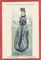 Carte Signée Charles SPINDLER - Environs De WISSEMBOURG - Costume Protestant - France