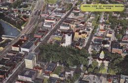 Ohio Elyria Aerial View Of Business Section - Unclassified