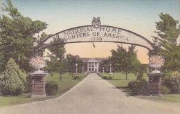 Ohio Tiffin Front Entrance And Archway National Home Daughters O