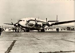 CPSM AVION , AIR FRANCE , Provence , - 1946-....: Moderne