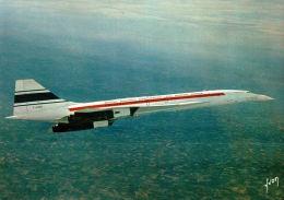 CPM AVION , LE CONCORDE , Avion Supersonique - 1946-....: Era Moderna
