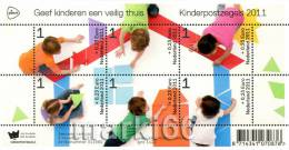 Netherlands - 2011 - Kinderpost 2011 - Mint Miniature Sheet - Unused Stamps