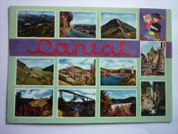 Le Cantal Touristiques ( 15 ) Multivue - France