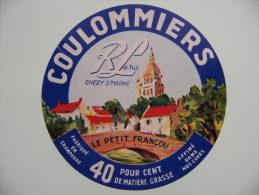 Etiquette Coulommiers Ancienne - Le Petit Françou - Chezy S/Marne En Champagne -  02  A Voir ! - Fromage