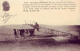 Aviation   Monoplan Blériot - ....-1914: Precursors