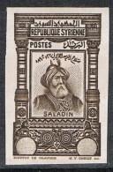 SYRIE N°238 N**  Variété Non-dentelé Et Sans Valeur Faciale, Signé Roumet, RARE - Syria (1919-1945)