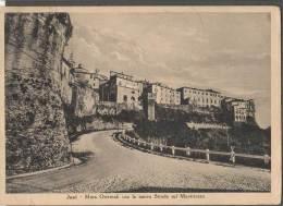 1952 JESI MURA ORIENTALI E NUOVA STRADA SUL MONTIROZZO FG V SEE 2 SCANS - Altre Città