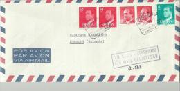 BARCELONA SUC-39 CC CERTIFICADA SELLOS BASICA - 1981-90 Cartas