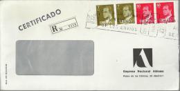 MADRID SUC-7 CC CERTIFICADA MAT RODILLO  CON SELLOS BASICA JUAN CARLOS I - 1931-Hoy: 2ª República - ... Juan Carlos I