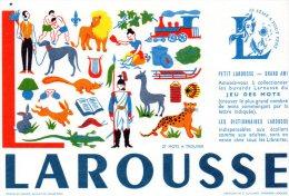 - BUVARD LAROUSSE - 147 - Cartoleria
