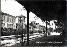 1955 GROTTAMMARE STAZIONE FERROVIARIA FG V SEE 2 SCANS - Altre Città