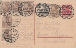 DR GS Zfr. Minr.6x 84II, 98 Berlin 20.8.20 - Allemagne