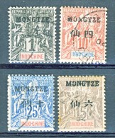 Mong Tze 1903-06 N. 1, 5, 6, 8 USATI
