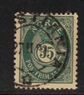 NORVEGE N° 55 B * Dent. 13 1/2 X 12 1/2 - Norvège