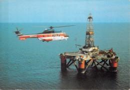 AEROSPATIALE - AS 332 SUPER PUMA - Plateforme Pétrolière - Bristow - Elicotteri