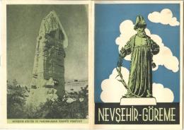 NEVSEHIR-GOREME (Turquie) - Brochure Touristique Rédigée En Langue Turque. - Cultura
