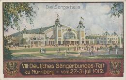 Bayern Privat-Ganzsache Minr.PP27 VIII: Dt. Sängerfest Nürnberg 1912 Postfrisch - Bayern