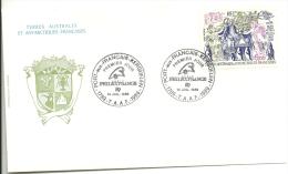 107  Bicentenaire De La Révolution Trés Beau Cachet Du 1/1/1989 - Terres Australes Et Antarctiques Françaises (TAAF)