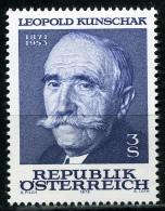 Österreich - Michel 1569 - ** Postfrisch - Leopold Kunschak - Wert: 0,70 Mi€ - 1945-.... 2ª República