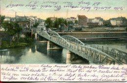 DE-ST: WEISSENFELS: Neustadt - CPA écrite (1904) En Bon état - Weissenfels