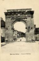 10 BAR-SUR-SEINE - Porte De Châtillon - Carte Précurseur - Bar-sur-Seine