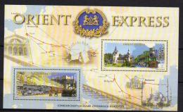 AUSTRIA  2010  Orient Express  BF  MNH - Treni