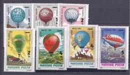 Hungary1983:Michel3600A-3 606Amnh** - Airships