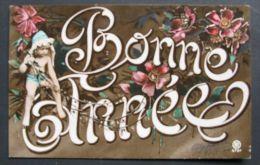 Bonne Année - 1909 - Año Nuevo