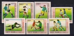 VIETNAM, YVERT 956/962**, SERIE EN NUEVO, PERFECTA, COPA MUNDIAL DE FÚTBOL ITALIA 1990 - 1990 – Italien