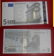 GERMANIA GERMANY 5 EURO 2002 TRICHET SERIE X 32048244533 P016E6 AUNC QFDS - 5 Euro