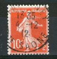 "N° 138°_Rouge VIF Effigie ""Blanche"" - 1906-38 Sower - Cameo"