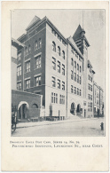 BROOKLYN EAGLE POST CARD, SERIES 14, No. 79 - POLYTECHNIC INSTITUTE, LIVINGSTON ST., NEAR COURT. - UDB - Unclassified