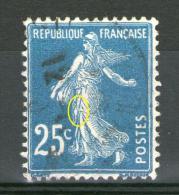 """N° 140° TYPE 4_""""Blanc"""" Dans Pli De La Robe_en TRES Bon Centrage_Cote 20.00 - 1906-38 Semeuse Camée"""