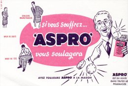 - BUVARD ASPRO - 151 - Produits Pharmaceutiques