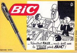 - BUVARD BIC - 155 - Stationeries (flat Articles)