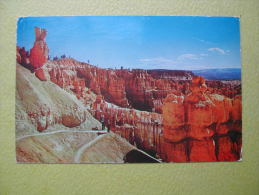 Le Navajo Trail. - Bryce Canyon