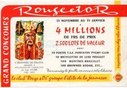 - BUVARD L'Histoire De France - Petite Déchirure - 160 - Stationeries (flat Articles)